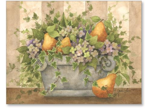 Arrangement With Pears