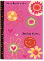 Bright Flowers & Hearts