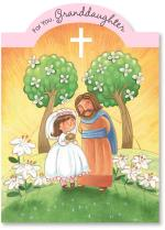 Jesus & Girl On Hillside