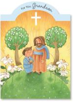 Jesus & Boy On Hillside