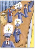 Grads W/Light Bulbs