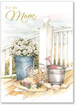 Pail/Shells/Flowers/Porch
