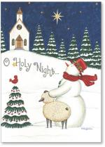 Snowman & Lamb Gazing At Star