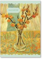 Orange Blossoms In Vase