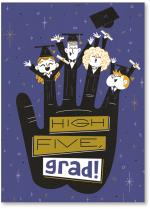 hand with grads for fingers