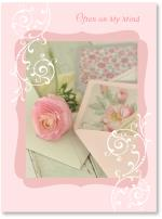 Open pretty envelopes & flower