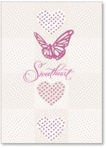 3 hearts and butterfly