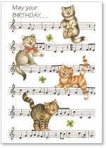 Cats On Sheet Music