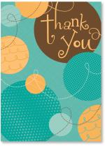 Text Thank You With Dots