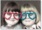 Girls in Heart Glasses
