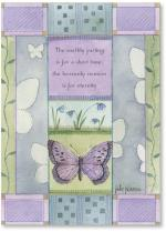 Lavender Butterfly Blue Flower