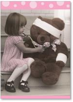 Girl Nurse Teddy Bear Patient