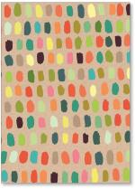 painted dots kraft