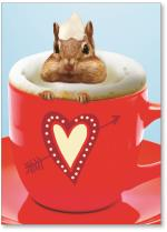 Chipmunk in cup