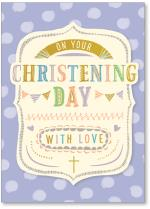 Polka Dots On Your Christening Day