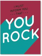 You Rock Perspective Type