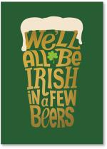 Irish Beer text