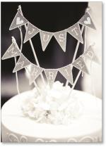 Cake Just Married Banner