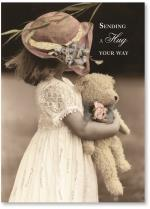 Little Girl W/ Teddy Bear