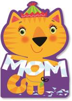 cat with cut paper MOM