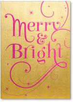 Calligraphy driven 'merry and bright'