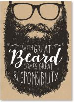 text in hipster beard