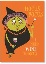 Hocus pocus wine witch