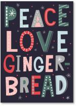 Peace Love Gingerbread